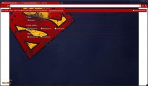 Superman Theme (Red-on-Blue)