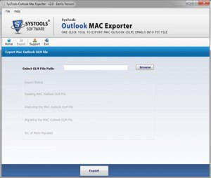 SysTools Outlook Mac Exporter