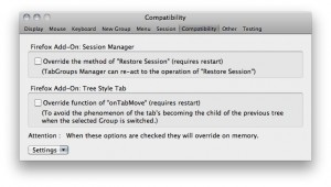 TabGroups Manager