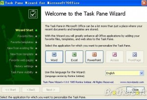 Task Pane Wizard for Office