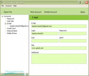 TD Password Manager