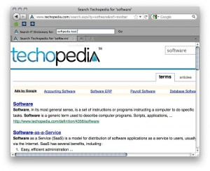 Techopedia.com Dictionary Search