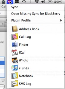 The Missing Sync for BlackBerry