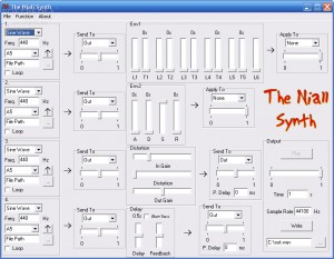 The Niall Synth