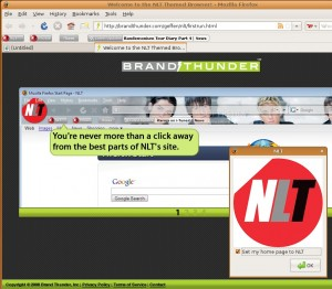 The OFFICIAL NLT Theme and Toolbar