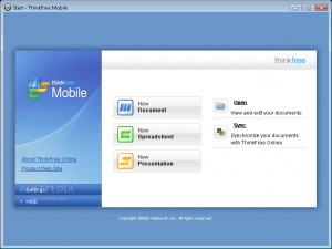 ThinkFree Mobile Netbook