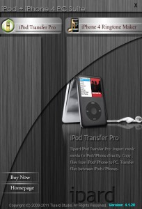 Tipard iPod + iPhone 4G PC Suite