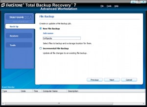 Total Backup Recovery Advanced Workstation