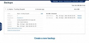TurnKey Linux Backup and Migration