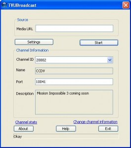 TVU Broadcasting Software