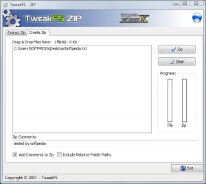 TweakFS Zip Utility for FSX