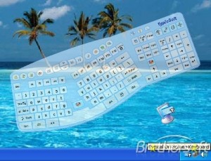 Typical On-Screen Keyboard