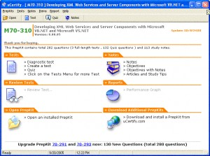uCertify - MCSD.NET Practice Test for Exam 70-310 - 330+ Questions