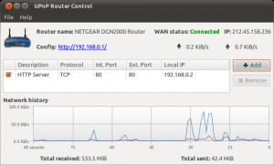 UPnP Router Control