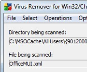 Virus remover for Win32/Chir.B@mm