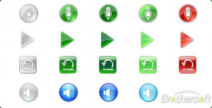 Vista Style - Multimedia Icon Set