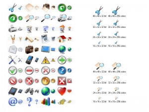 Vista Toolbar Icon Collection