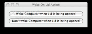 WakeOnLidAction