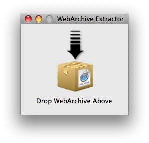 WebArchive Extractor