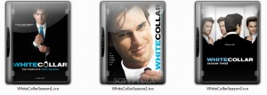 White Collar TV Series Icons