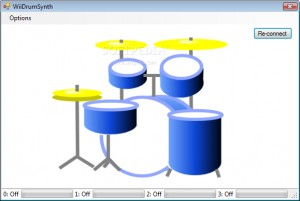 Wii Drum Synth