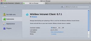 Wikibox Intranet Client