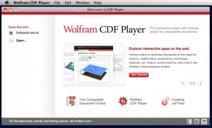 Wolfram CDF Player (formerly Mathematica Player)