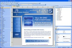 WYSIWYG Web Site Builder