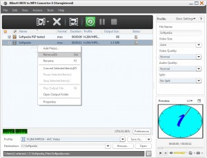 Xilisoft MOV to MP4 Converter 6
