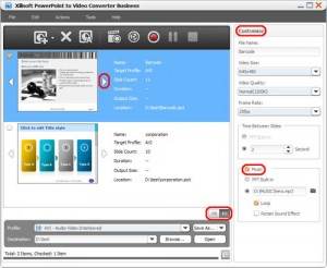 Xilisoft PowerPoint to Video Converter Pro