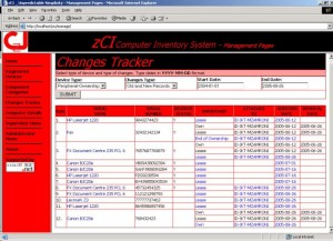 zCI Computer Inventory System